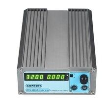 Компактные цифровые Регулируемый DC Питание 4 цифры светодиодный CPS-3205 II 160 Вт 0-32 В/0-5A Портативный коммутации регулируемый Питание