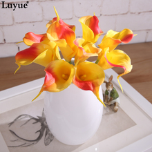 Artificial Flower Lily Bouquets Home Decor Decorative