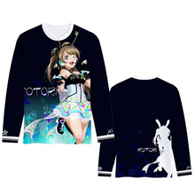 ImbibeInk Love Live u's Video Game Awaken Printed T-shirt Cosplay Costume Nishikino