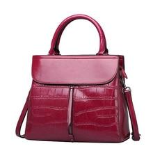 UniCalling brand women bag cow split leather fashion stone pattern embossing ladies shoulder bag female fashion bag Factory Sale