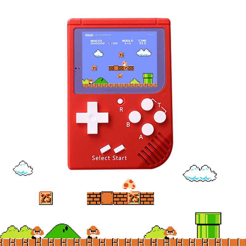 Handheld Game Player Built-in 129 Classic Games 8 bit 2.0 inch LCD Color Mini Game Console RS-6 Retro For Boy Hand Held Games image
