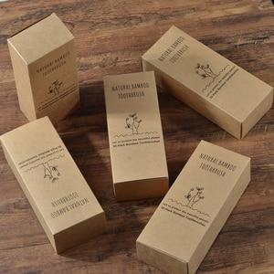Image 5 - Пользовательский логотип 300 Pack зубная щетка с мягкой щетиной бамбуковой зубной щетки cepillo dientes натуральный эко бамбуковое волокно бамбуковая зубная щетка