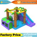 YARD Jungle Bounce House Inflatable Combo Slide Bouncer Jumper With Blower