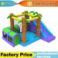 Yard selva casa de brinco inflable combo diapositiva bouncer jumper con ventilador