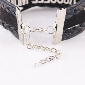 10 Colors Unicorn Leather Bracelets