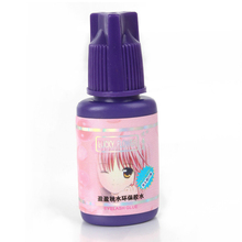 15 ml Corea Del Profesional Pegamento de Pestañas Extensión de la Pestaña Pegamento Sin Estimulación Para Las Mujeres Embarazadas Pegamento Del Maquillaje Para Las Pestañas