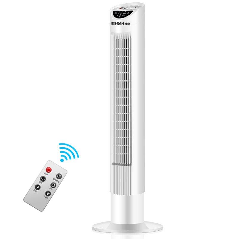 Ev Aletleri'ten Fanlar'de Akıllı elektrikli hava soğutma kulesi Fan ev masaüstü dikey zamanlama Vaneless Fan süper düşük gürültü ayaklı vantilatör yatak odası title=