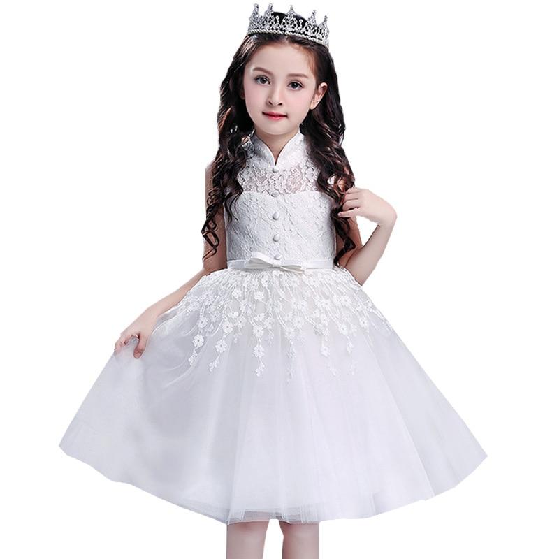 Girls   lace evening   dress   children clothing   flower     girls     dress   party clothes communion princess   dress   baby tutu costume L5021