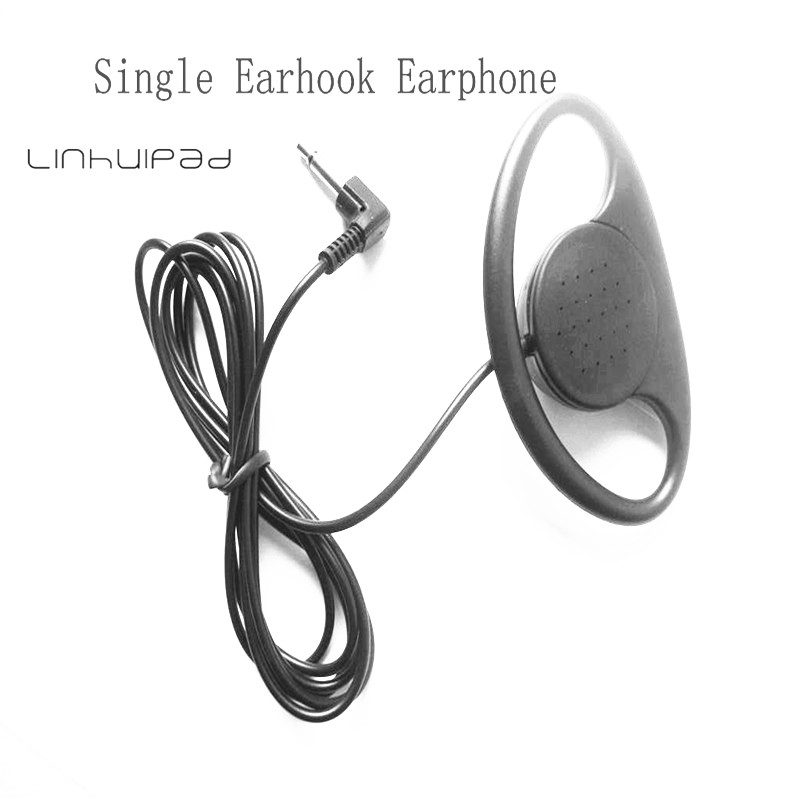 Linhuipad Soft Hook earphone for Audio Tour Guide System Church Translation Teaching Travel Simultaneous Interpretation Museum