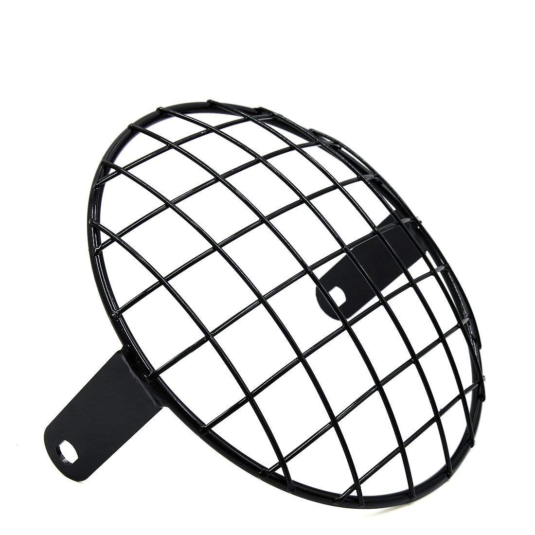uxcell 7 8inch Black Metal Headlight Mesh Grill Motorcycle Headlamp Grid Cover for Harley