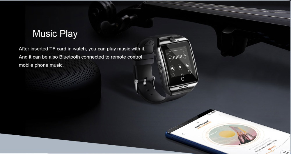 itouch watch with music play