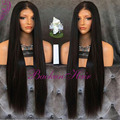 8A Grade Long Silky Straight Synthetic Lace Front Wig High Density Lace Front Wigs Fiber Synthetic Lace Wigs For Balck Women