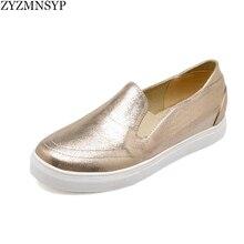ZYZMNSYPประดับด้วยเลื่อมผ้าโลฟเฟอร์สีดำทองs liverแพลตฟอร์มแฟลตผู้หญิงผู้หญิงแฟชั่นฤดูใบไม้ผลิฤดูใบไม้ร่วงแบนรองเท้าสุภาพสตรีสาเหตุรองเท้า