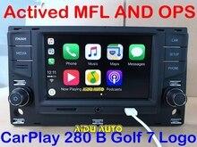 "AIDUAUTO עבור פולקסווגן גולף 7 MK7 VII פאסאט B8 MQB Tiguan Carplay 6.5 ""MIB רדיו 5GD035280B 5GD 035 280 B"