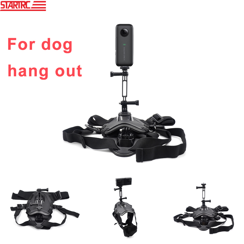 STARTRC Insta360 ONE X & EVO Accessories Kit Pet Lanyard Extension Fixing Bracket For Insta360 Action Camera Accessories Parts