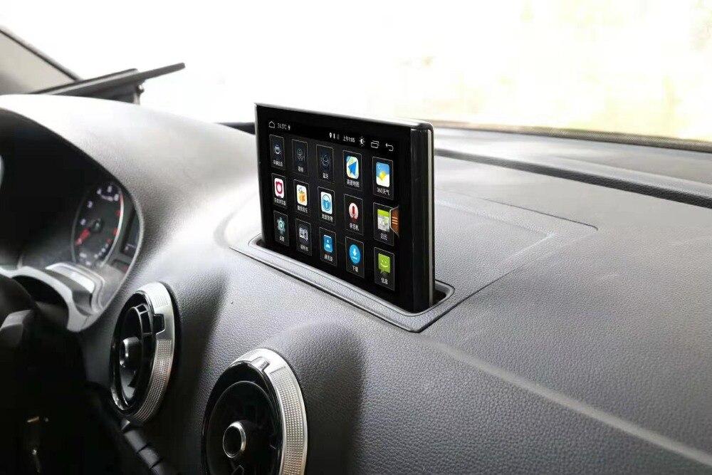 Dispositivo de Som Do Carro de navegação de Áudio Premium Para 2014-2017 AUDI A3 7