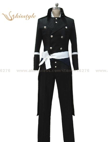 Mode Kisstyle Hakuoki Shinsengumi Kitan Hajime Saito Costume de Cosplay uniforme