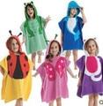 5 diseños con capucha bebé albornoz/baby towel/modelado animal toallas/niños albornoz/baby bath towel