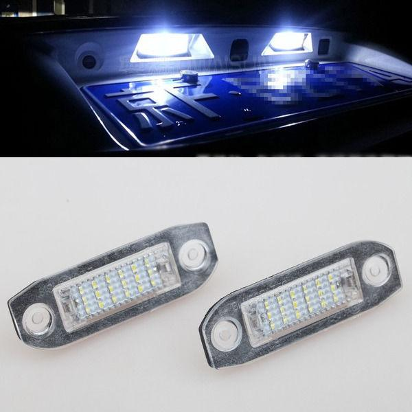 Us 1399 2x Error Free White Led Smd License Plate Lights For Volvo S80 Xc90 S40 V60 S60 In Signal Lamp From Automobiles Motorcycles On