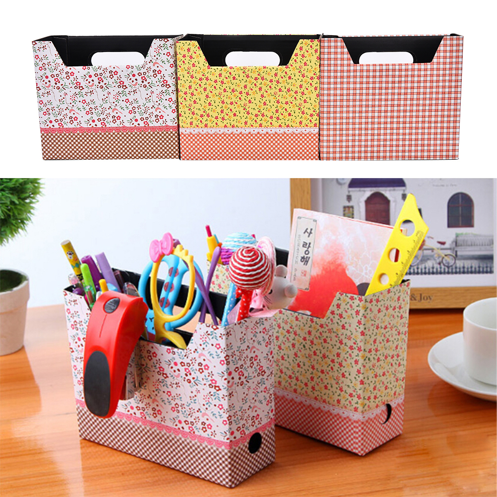 1PC Cute Desk Organizer Makeup Cosmetic Stationery Holder