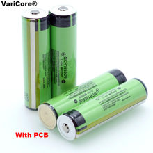 2020 100% New secure Original NCR18650B 3400mAh 18650 Rechargeable Battery with PCB 3.7v for Flashlight batteries(China)