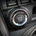 Для Subaru BRZ Toyota 86 карбоновое волокно внутренняя кнопка запуска двигателя автомобиля украшение кольцо отделка наклейки 2013 2015 2016 автомобильны...