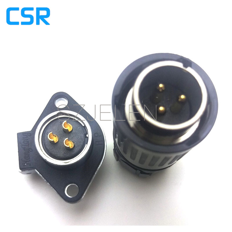 WEIPU WP20 series,Aviation plug connectors, cable connectors, board-to-wire connectors 3 pin  Plug and socket, Rated current 30A heavy duty connectors hdd 042 1 f m 42pin 10a industrial rectangular aviation connector plug