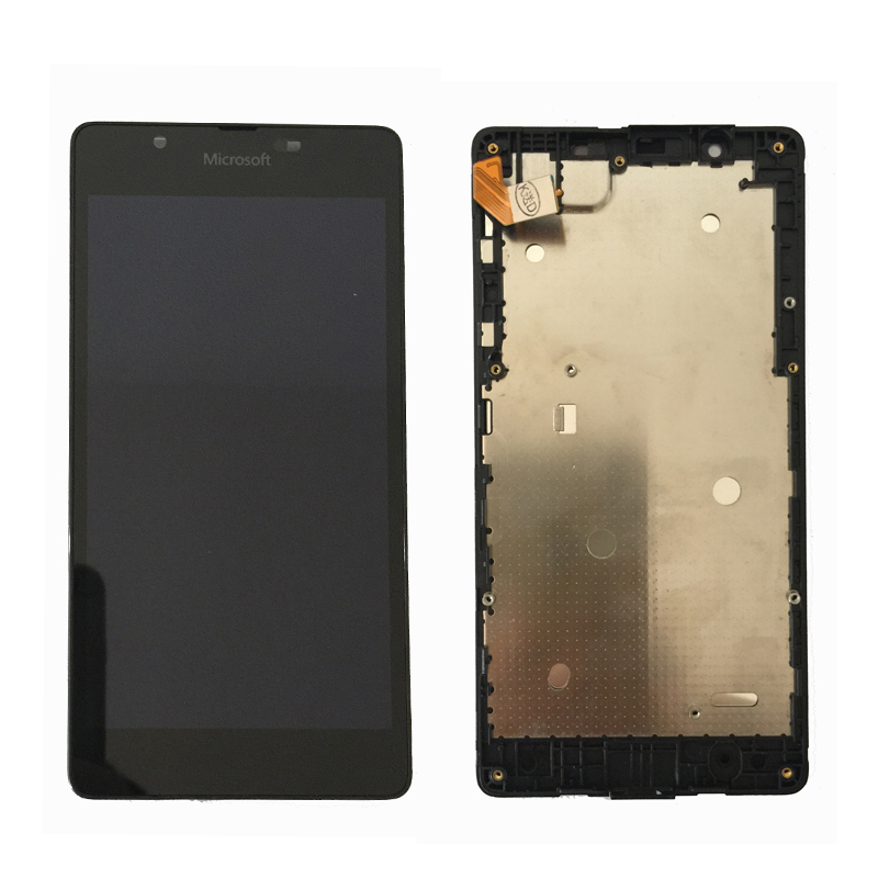 Original For Microsoft Nokia Lumia 540 LCD Display with Touch Screen Digitizer Assembly With frame Free Shipping