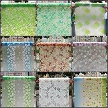 Funlife 80 * 200cm Zelfklevende venster maalt papier matte stickers badkamer transparante ondoorzichtige badkamer cellofaan glasfolie
