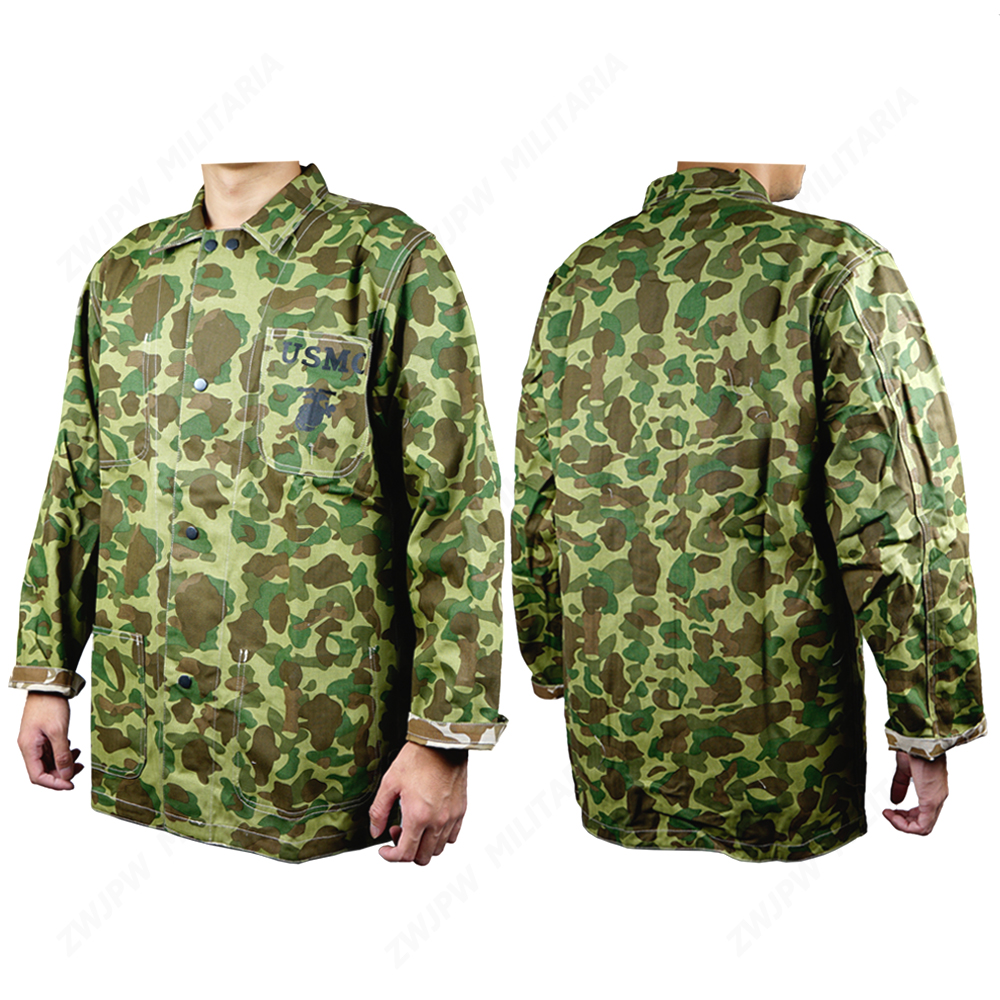 WW2 US ARMY USMC Pacific Camo Coat Jacket Cotton
