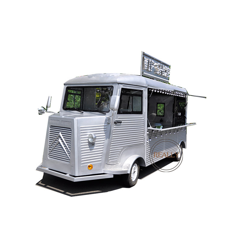 Cheapest Electric Food Truck Mobile Food Cart  Electric Rickshaw Food Cart For Sale Snack Coffee