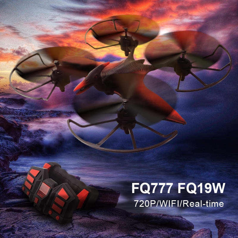 FQ777 FQ19W WIFI FPV With 720P Camera Altitude Hold RC Quadcopter RTF Drone VS Visuo XS809HW Eachine E013 Mode 2 jjr c jjrc h26wh wifi fpv rc drones with 2 0mp hd camera altitude hold headless one key return quadcopter rtf vs h502e x5c h11wh