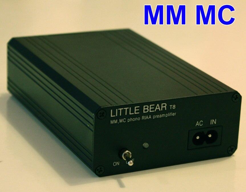 T8 record player dynamic magnetic / dynamic MM/MC sing LP phono amplifier preamp цена