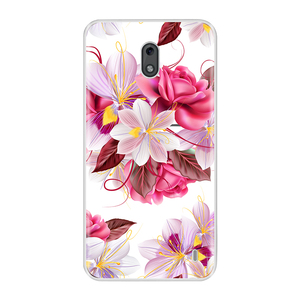 Image 4 - For Nokia 2 3 Case Cover Soft Silicone TPU Fashion Colorful Painted Phone Back Cover Protective Case For Nokia 2 3