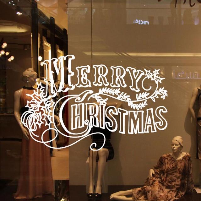 decoracin de la pared venta merry christmas escaparate de tienda de decoracin del hogar etiqueta de