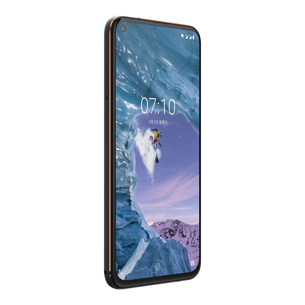"""Original Nokia X71 6GB RAM 128GB ROM Mobile Phone 6.39"""" Snapdragon 660 Octa Core Android 9 48MP Camera Fingerprint 4G Smartphone-in Cellphones from Cellphones & Telecommunications    3"""