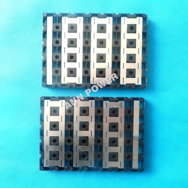 18650 battery 5P7S (5*7) holder and pure nickel strip, for 7S 24V 10Ah/15Ah li ion battery pack, 5*7 holder + pure nickel belt