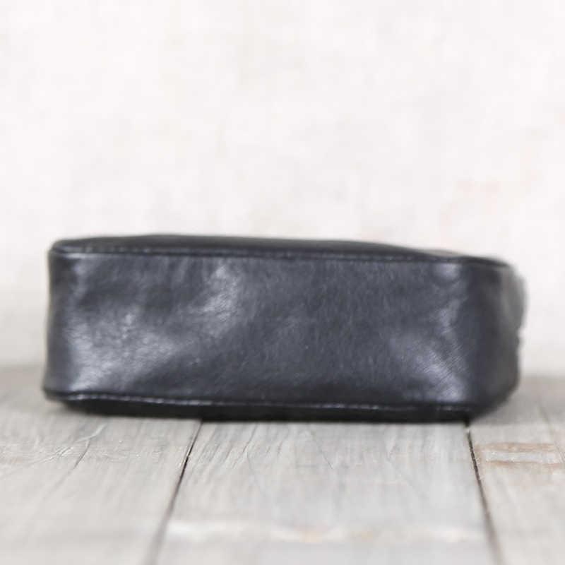 محفظة نقود للنساء من الجلد الطبيعي بسحاب غير رسمي حافظة نقود للرجال من جلد البقر 100% محافظ ببطاقة ائتمان حافظة نقود صغيرة بجيب للنقود المعدنية