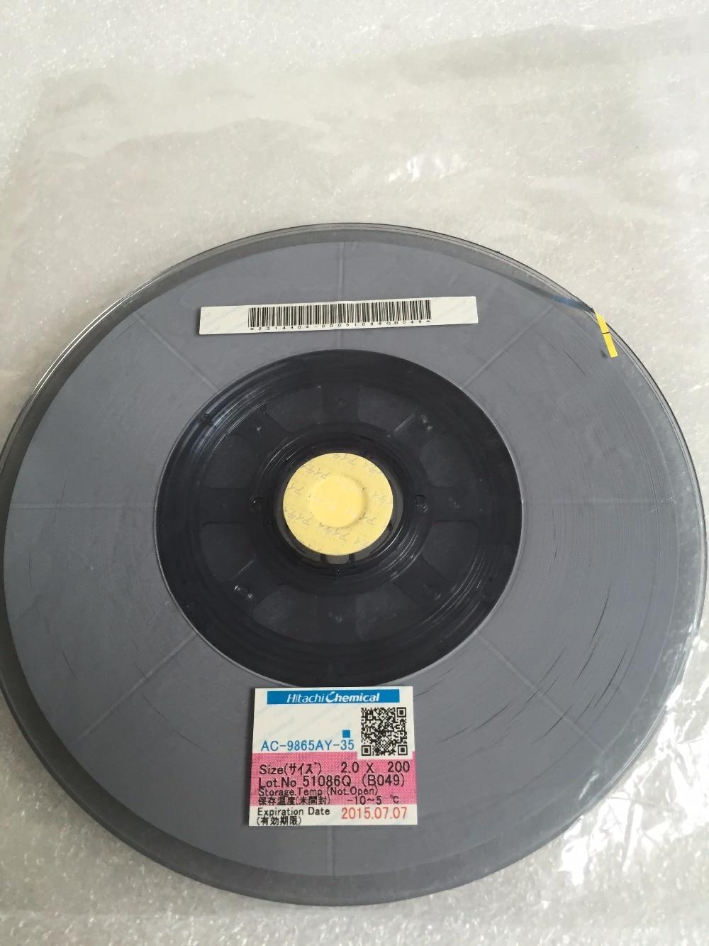 Original  ACF  AC-9865AY-35   PCB Repair  TAPE 2.0 M -25 M  New Date