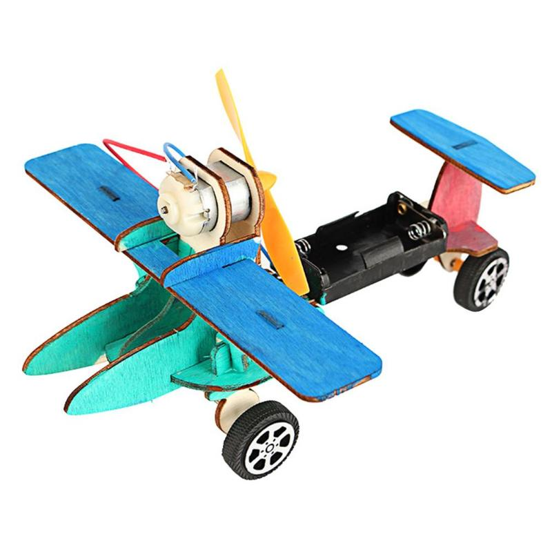 1set Cartoon Baby Toys Montessori Wooden Puzzle Toy Kids Adults Vehicle Puzzles Wooden Aircraft Learning Education Assemble Toy