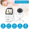 Cleansale UK US Home Security Baby Monitor 2 4inch Displayer Night Vision Camera Wireless Mini Camera