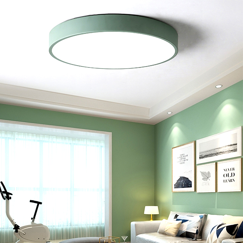 HTB1eEm.XbAaBuNjt igq6z5ApXaG Modern LED Ceiling Light Living Room Bedroom Light Corridor Balcony LED Ceiling lamp Kitchen Ceiling Lights Surface mount
