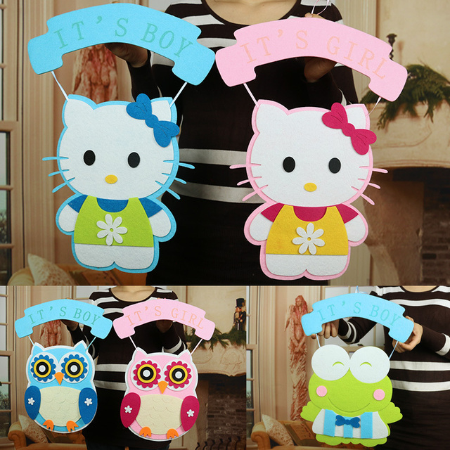 1pcs Hellokitty Owl Frog Hanging Ornaments Birthday Party Decoration