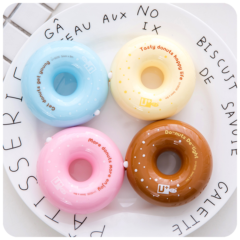Candy Donut correction tape 5mm*8m white correcting Statione