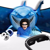 Excelvan HOT 98 Inches Side By Side 3D Video Glasses Virtual Widescreen HD Digital Portable Video