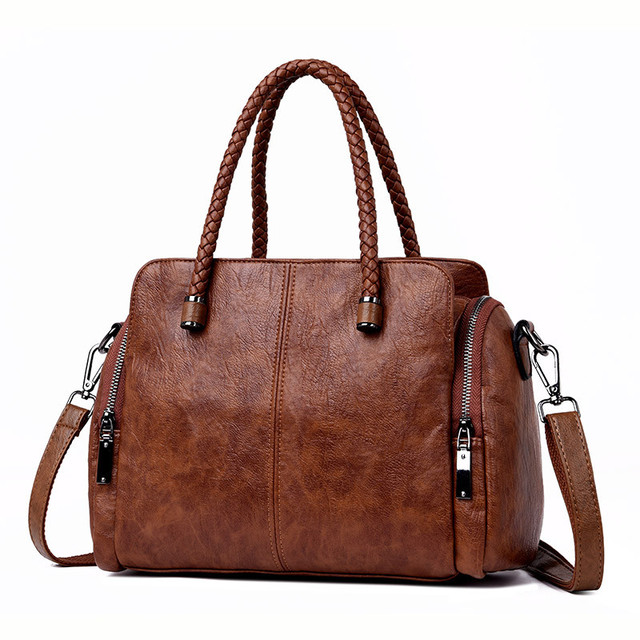 Two Side Pocket Casual Tote...