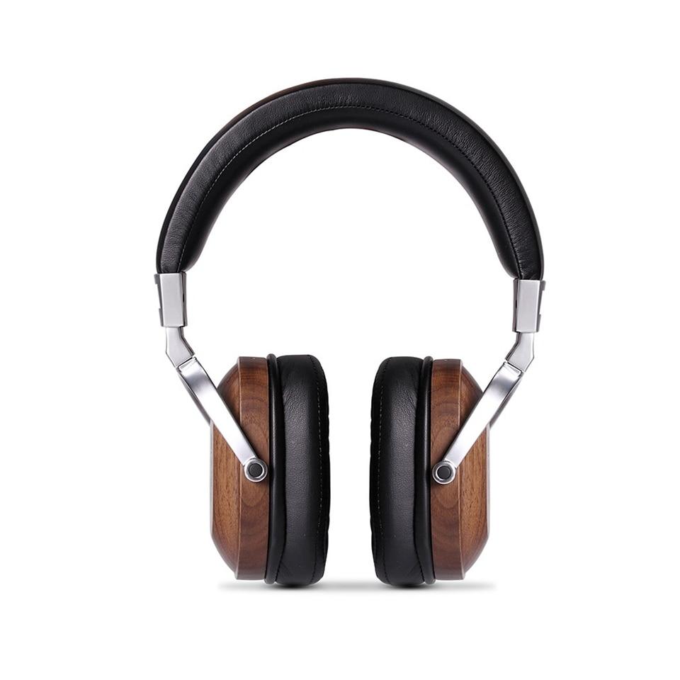 SIVGA SV006 di Legno Studio Monitor DJ Auricolare Cuffie Auricolare Con Microfono Hifi Stereo 50 millimetri Placcato Berillio Dinamico - 3