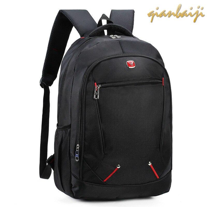 Male Backpacks Mochila Laptop-Bags Notebook Travel School Student Oxford Shoulders Leisure