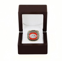 WITH BOX National Football League 1969 SUPER BOWL IV KANSAS CITY CHIEFS 3D Design High Quality