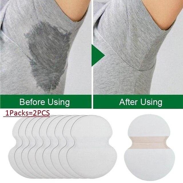 100 piezas. = 50 pares de almohadillas absorbentes ultrafinas para limpieza de cuerpo antitranspiración caliente